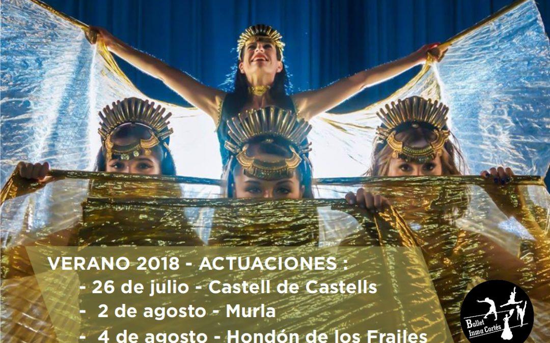 Verano 2018 – Próximos eventos